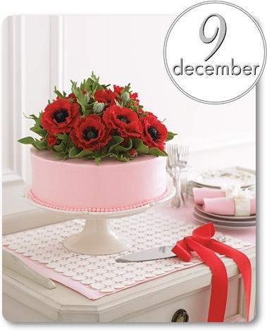 jultårta, christmas cake
