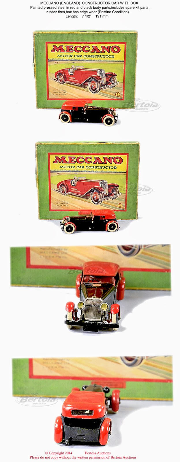 Old Antique Toys April 2014 Control Your Meccano Models Or Anything Else From Windows Pc Was Inside The Metallic Windshield Frame