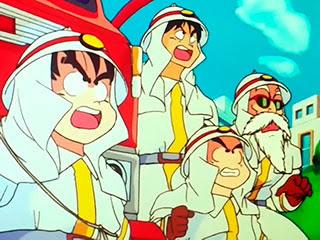 cuerpo bomberos goku