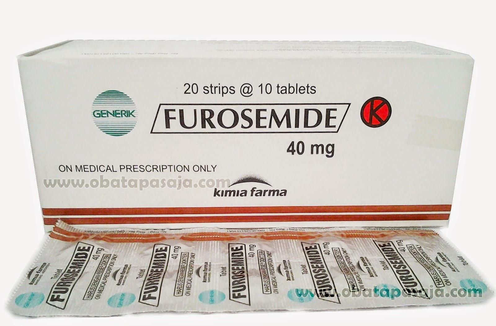 Indikasi, Dosis dan Harga Furosemide Tablet dan Injeksi