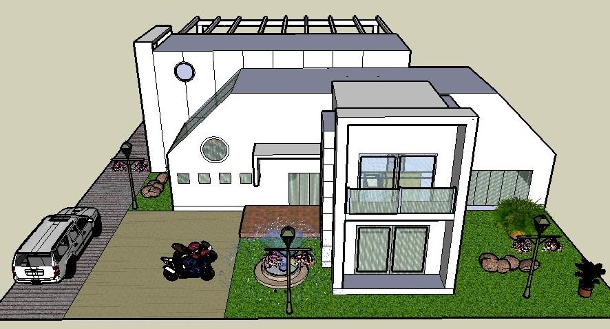 Construcciones campestres dise o casa finca monteria for Modelos de fincas campestres
