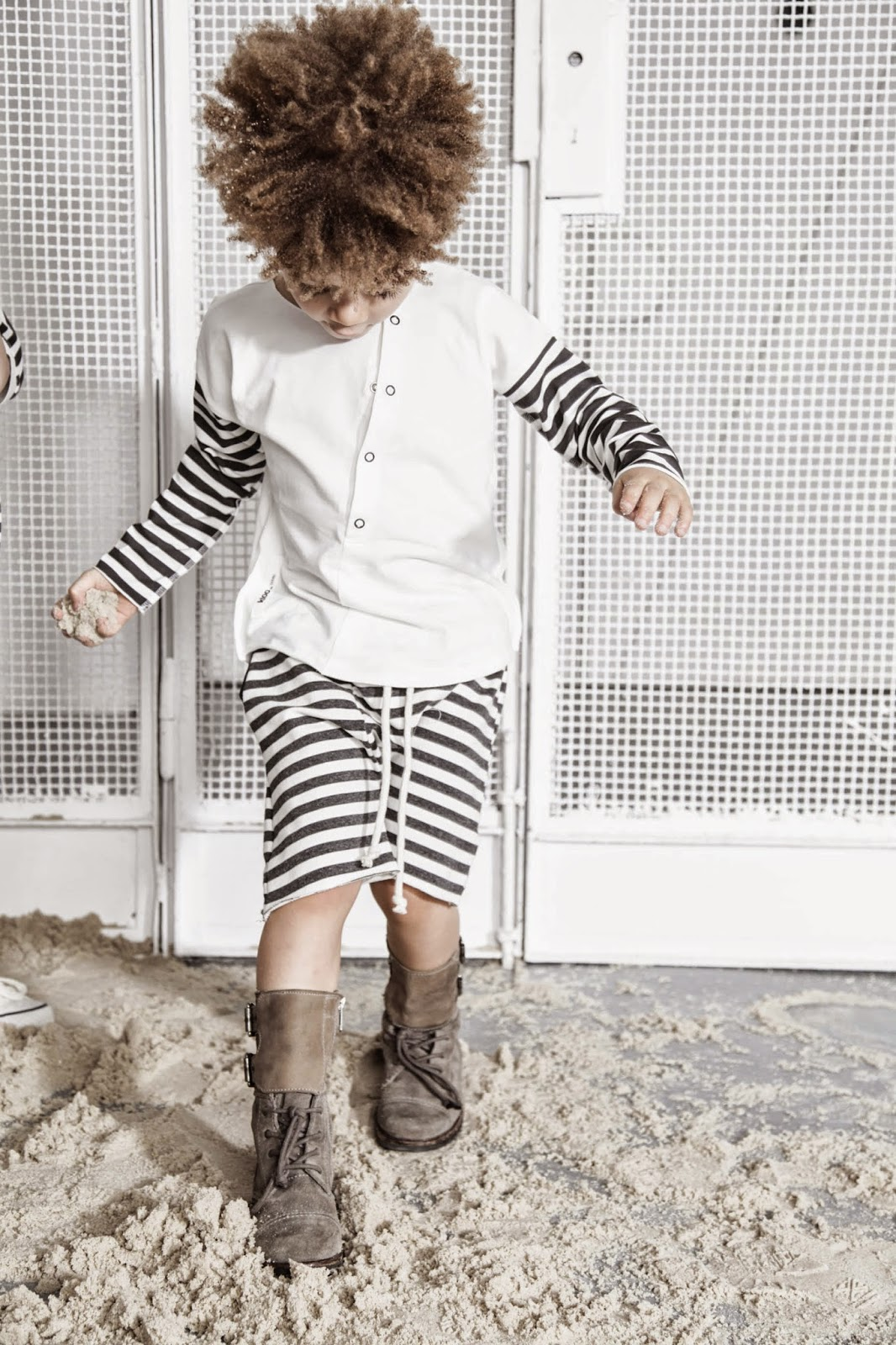 Kloo by Booso - Polish kids fashion spring-summer 2015 - basic stripes