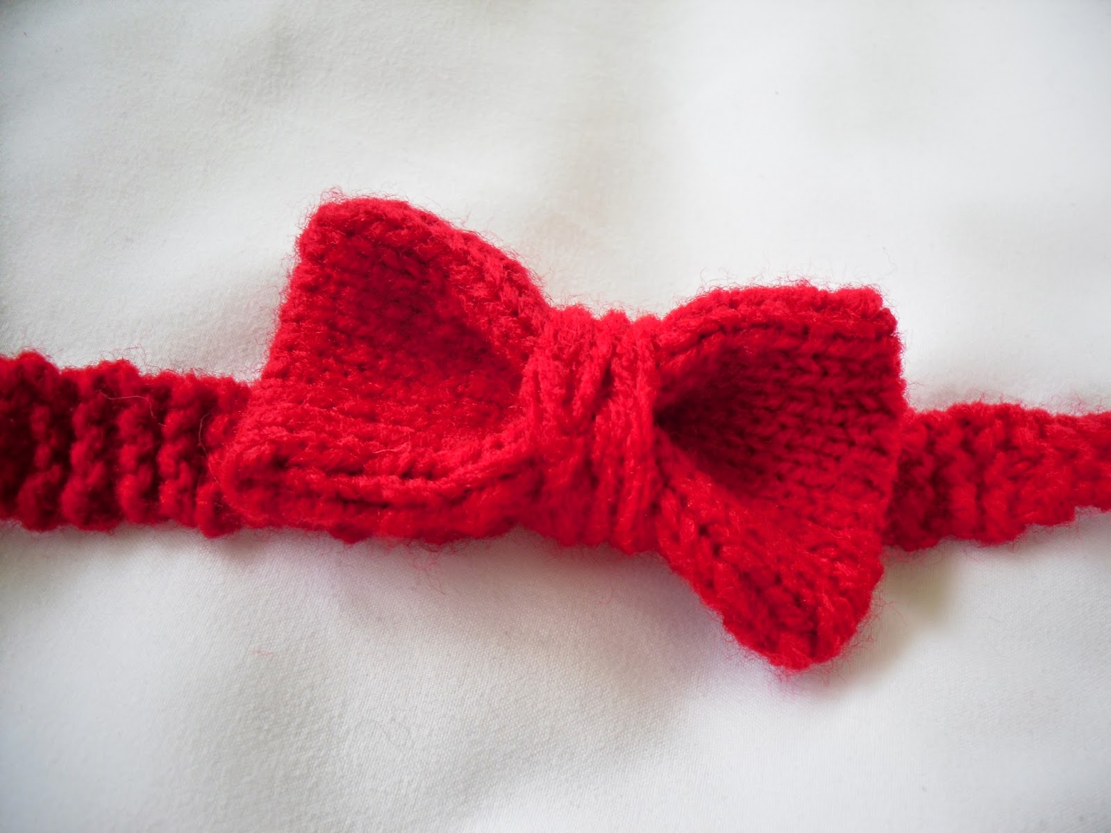 Bow Tie Knitting Pattern : Not Your Grandmother`s Knitting: Bow ties are cool