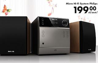 Wieża Philips Micro Hi-Fi System Biedronka