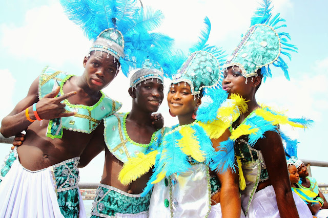 lagos carnival 2015 - the blue crew