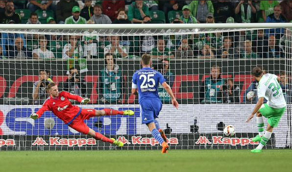 Wolfsburg 3-0 Schalke via Bundesliga