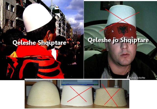 Qeleshe shqiptare dhe jo Shqiptare