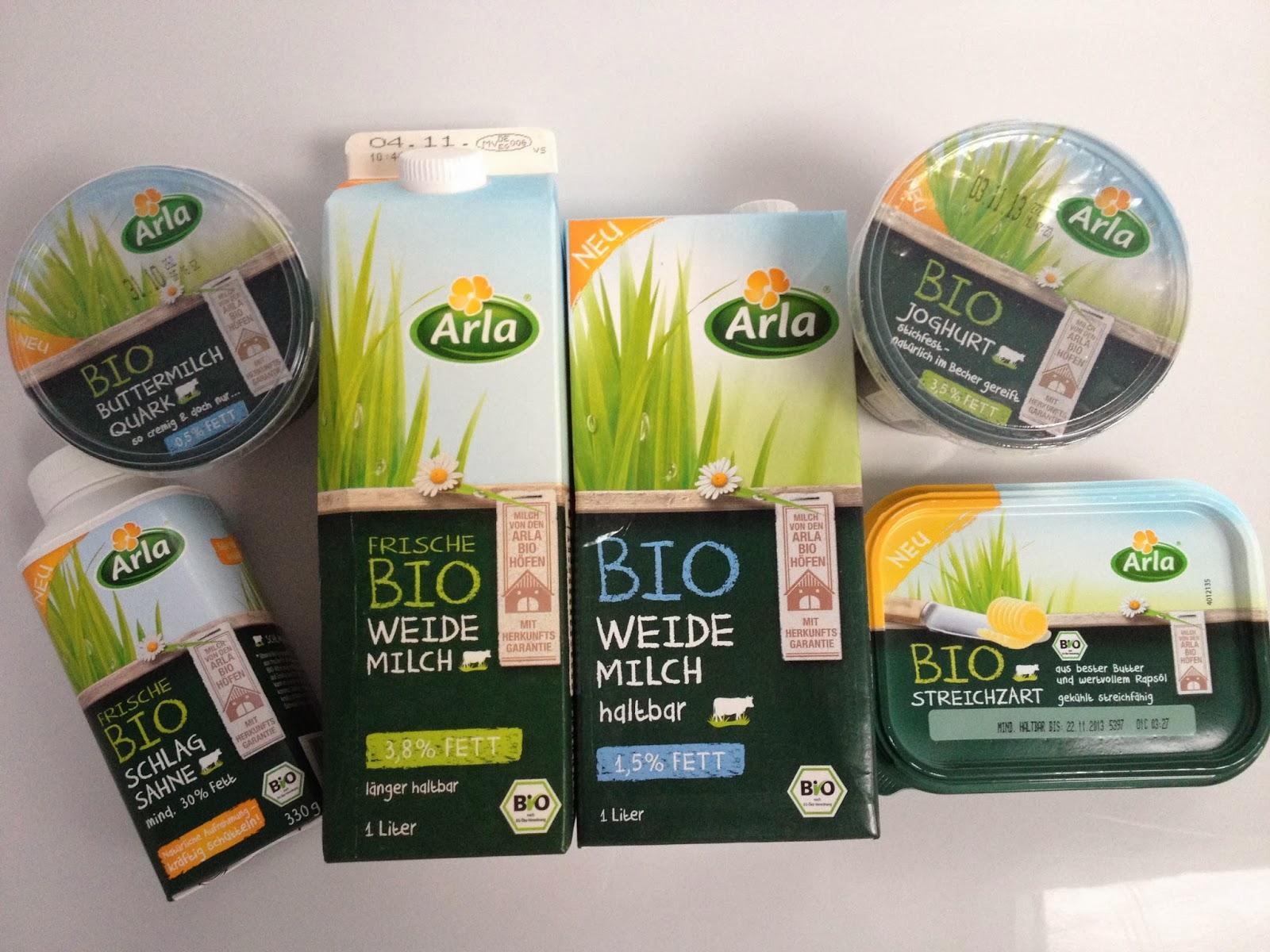Bio Joghurt; Bio Buttermilchquark, Frische Bio Schlagsahne, Bio Weidemilch, Bio Streichzart