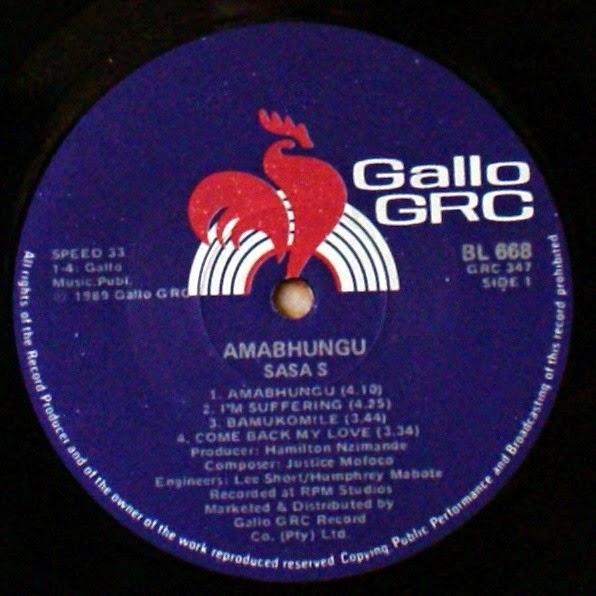 Sasa S. - Amabhungu