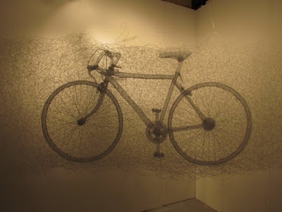 The Steel Wire Sculptures Of Shi Jindian Seen On www.coolpicturegallery.us