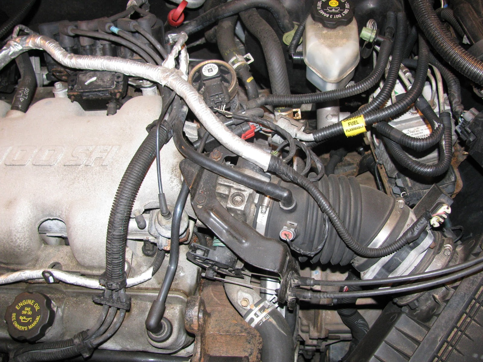 Beforetopairintakeside on Buick 3800 Engine Of Coolant System