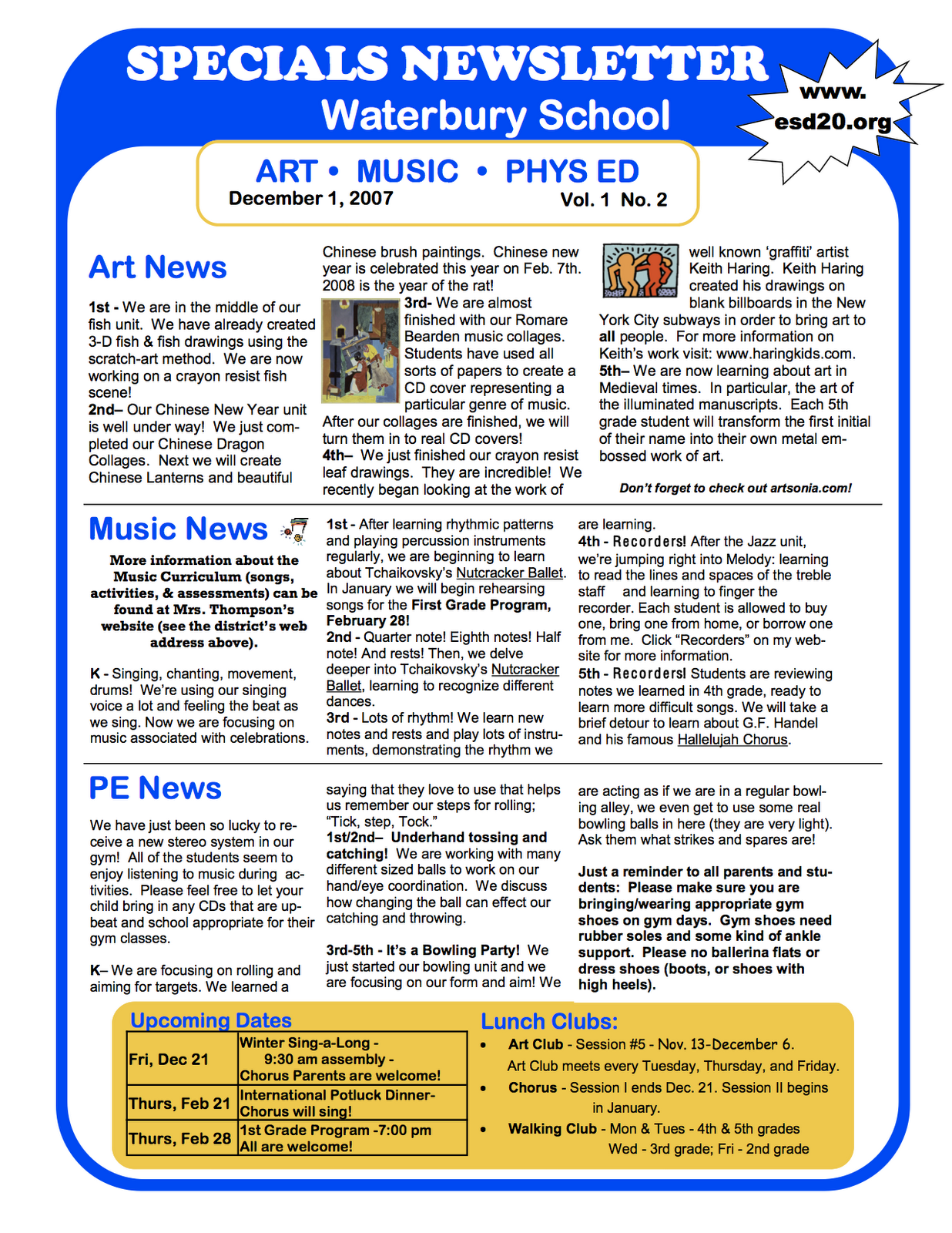 Specials Newsletters - TECHNOLOGI INFORMATION