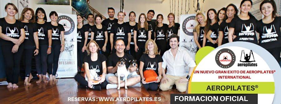 Formación Profesores Aero Pilates International Galicia