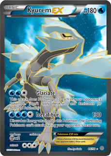 Kyurem EX Ancient Origins Pokemon Card