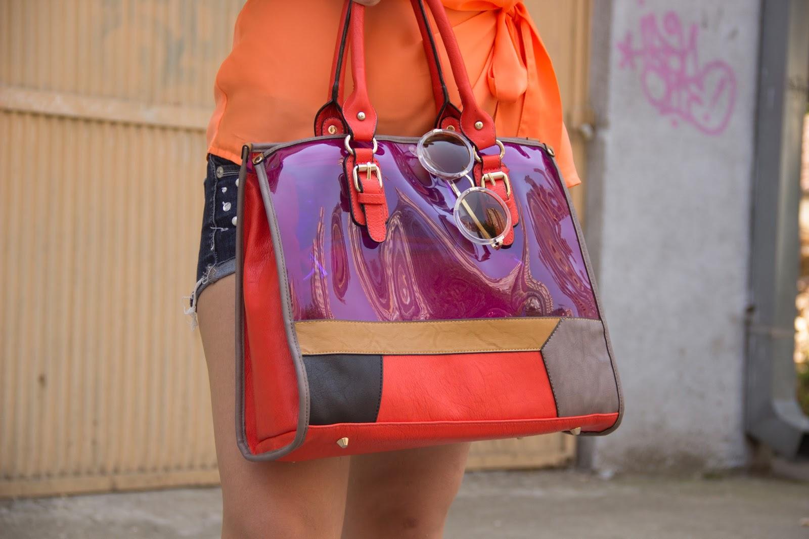 trasparent  bag