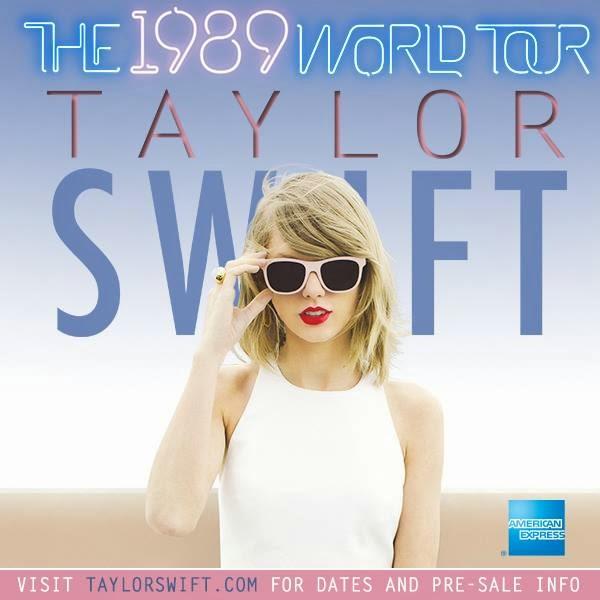 1989 World Tour dates