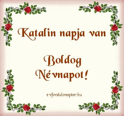 November 25 - Katalin névnap