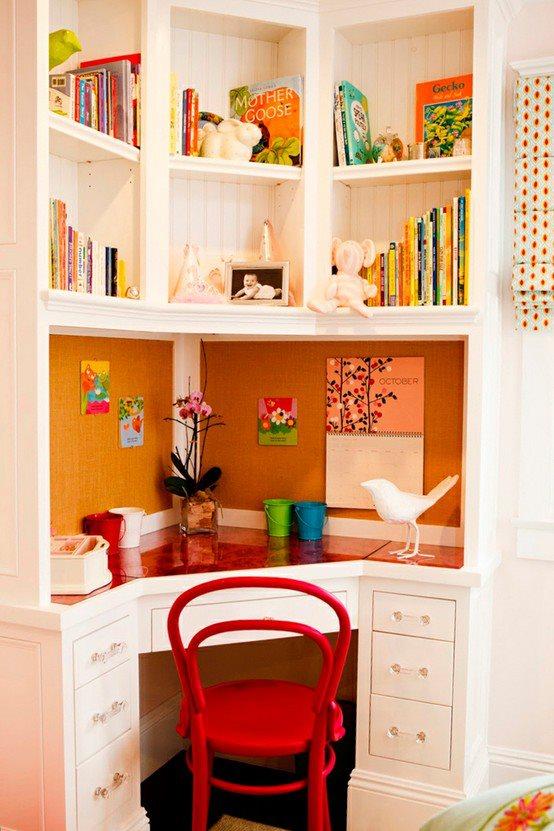 El detalle que hace la diferencia espacios peque for Mesas de estudio para espacios pequenos