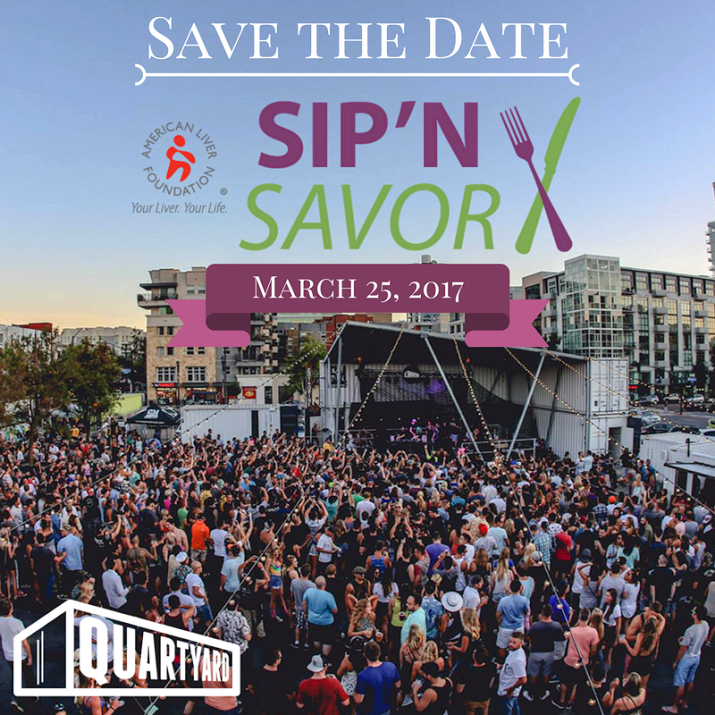 Save on passes & Enter to win tickets to ALFSD's Sip & Savor - March 25!