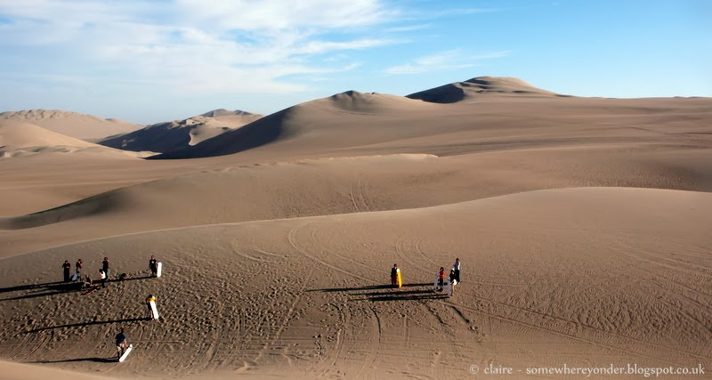 Sandboarding at the Oasis of Huacachina - Peru