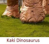 kaki Dinosaurus