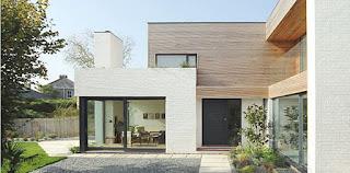 Desain Rumah Mewah 1 Lantai Minimalis