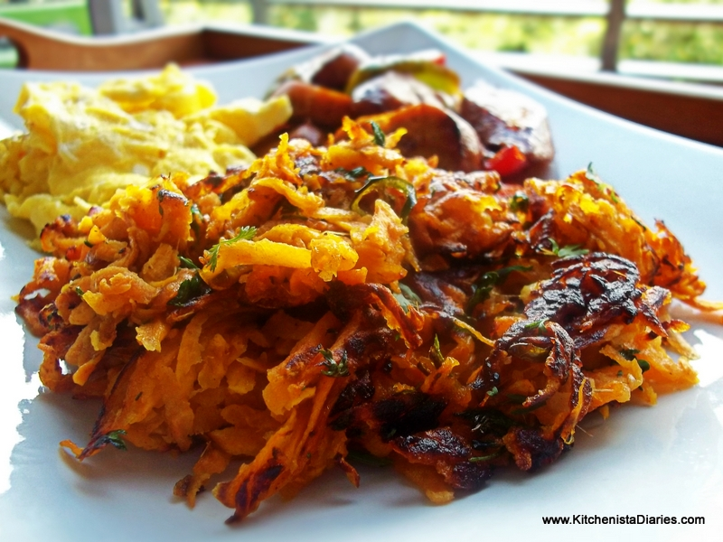 Simple Sides: Sweet Potato Hash Browns - The Kitchenista Diaries