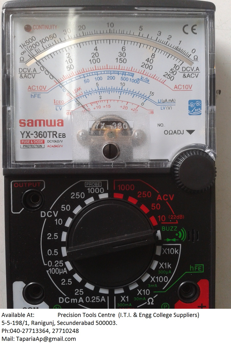 Utility Meter Analog : Multimeter analog electricity doctor clamp