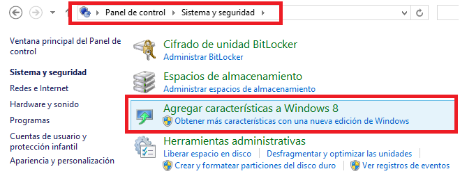 Activar Windows Media Center en Windows 8 Pro