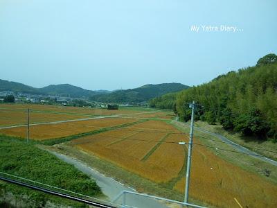 Wonderful views of Japan from the Shinkansen Nozomi Bullet train
