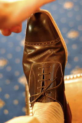 Bespoke shoes at Cleverley 13: The wear report