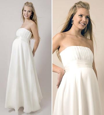 сватбени рокли за бременни