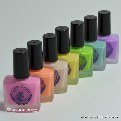 Lime Crime Les Desserts d'Antoinette Nail Polish Collection