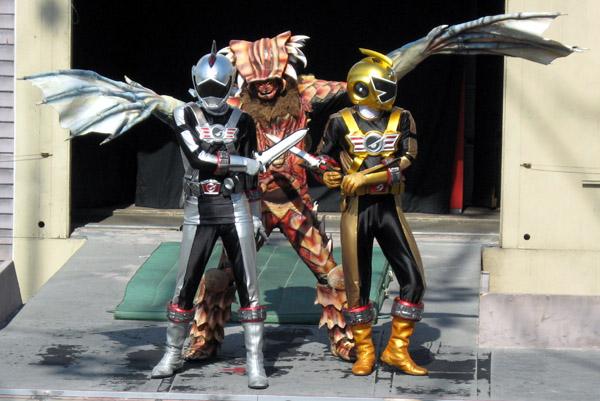henshin grid male and female hero duos