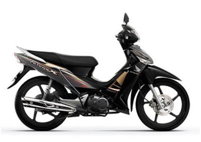 Honda Future X FI tem mới màu đen