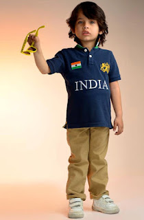 SPORTY TEE-SHIRT WITH SOFT TROUSER AND SHOES 2013 COLLECTION FOR BOYS BY SHER SINGH