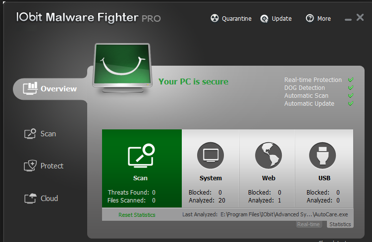 IObit Malware Fighter 2 PRO Free Download
