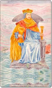 King of Cups, www.aquatictarot.de