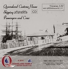 CD case (Qld Customs House Shipping Index)