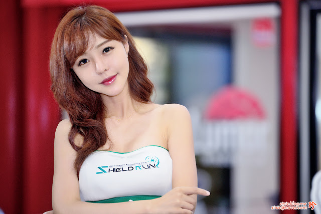 1 Seo Jin Ah - Seoul Auto Salon - very cute asian girl-girlcute4u.blogspot.com
