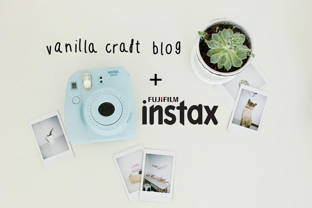 Instax Mini8 & Vanilla Craft Blog