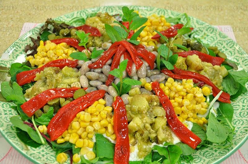 Has Bahçe Salatası Tarifi Kolay Yapımı