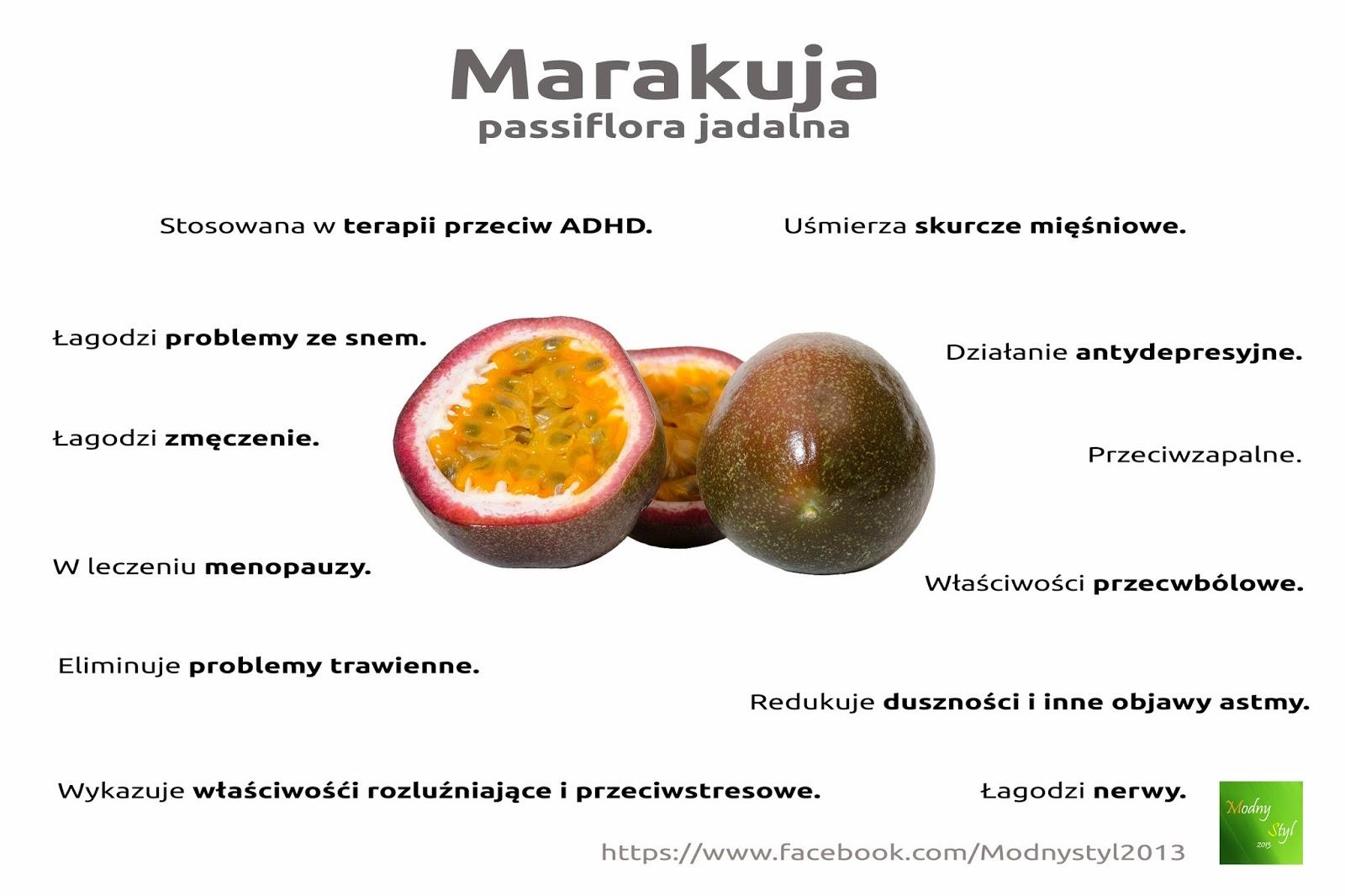Marakuja i jej właściwości
