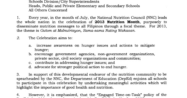 essay writing about nutrition month tagalog 2012 Best slogan for nutrition month in tagalog is it true that tagalog is not considered a language according to language experts tagalog.