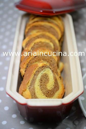 Blog di cucina di Aria: Fette biscottate bicolori, con lievito madre ...