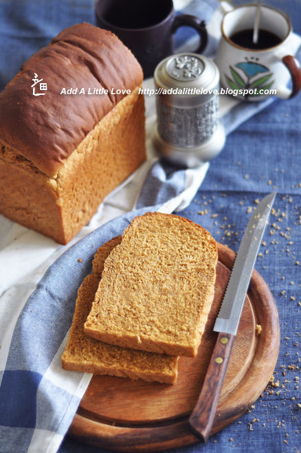 Anadama Bread--Molasses and Cornmeal Sandwich Bread