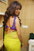 Manali rathod sizzling photos in saree-thumbnail-12