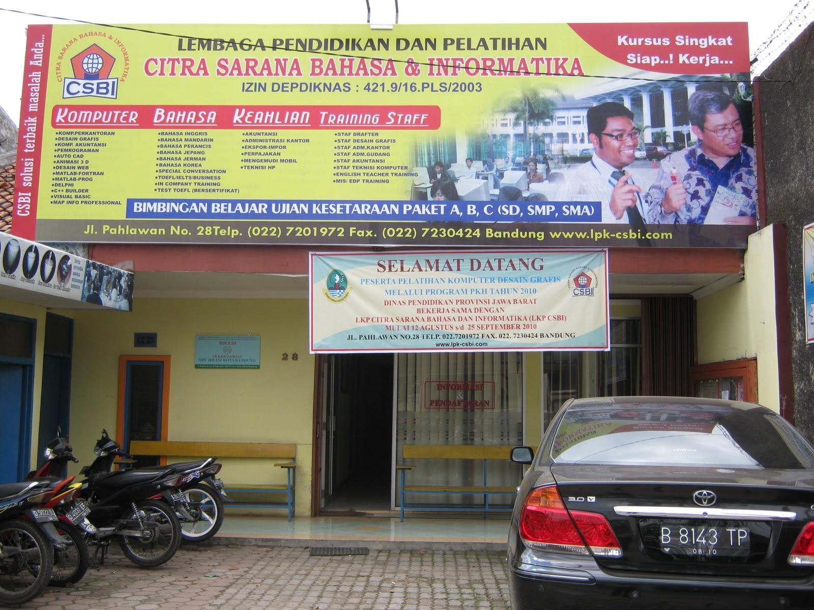 Daftar Tempat Kursus Komputer Di Bandung