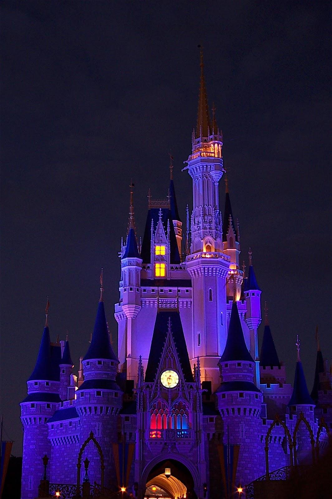 Disneyland Castle At Night Disney Musings: Wordle...