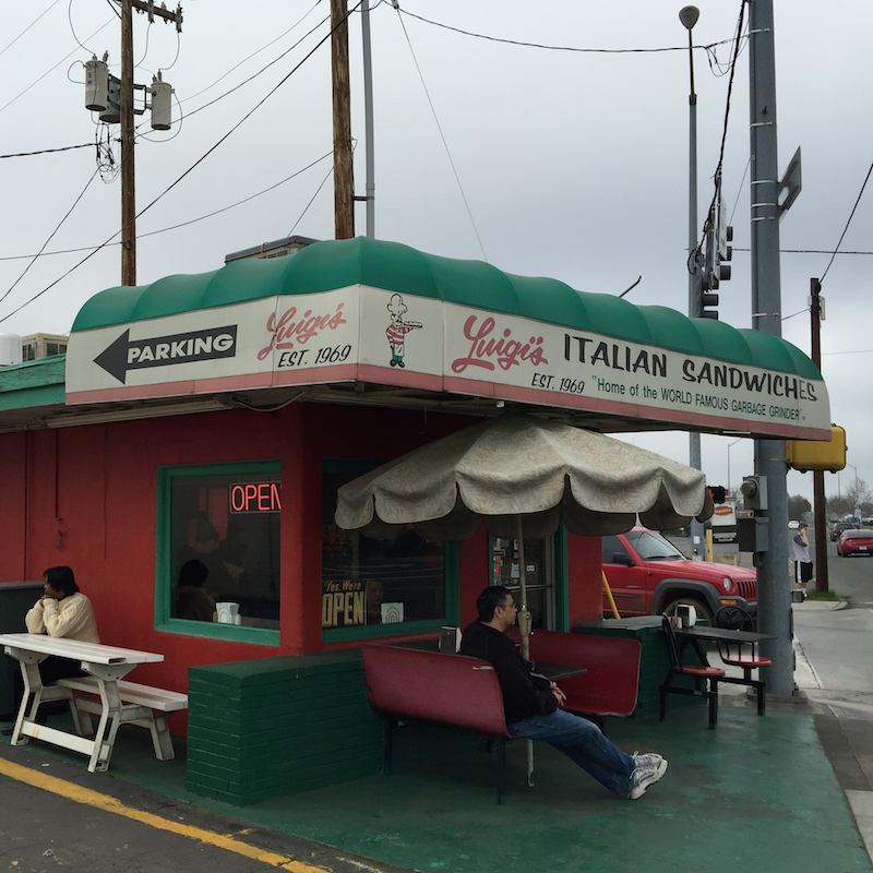 Luigi's Italian Sandwiches in Medford, Oregon